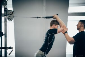 Overhead Cable Tricep Extensions